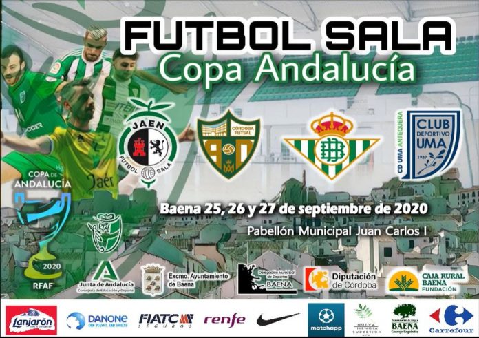 Cartel de la Copa de Andalucía de fútbol sala