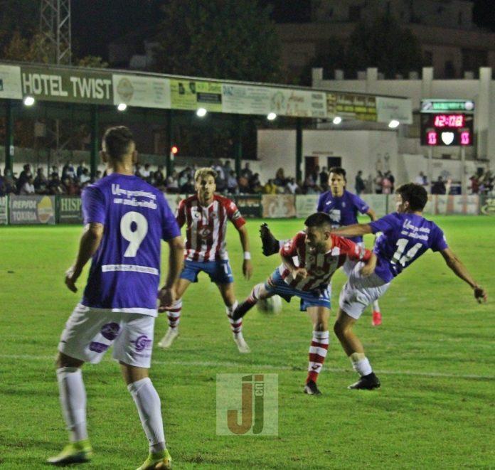 Torredonjimeno y Real Jaén, partido de ida de cuartos de final de la Copa RFAF
