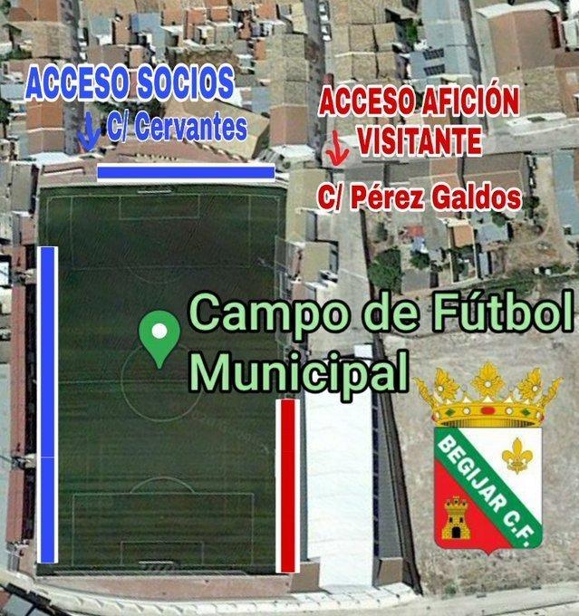 El Begíjar CF ha adaptado su campo de fútbol a la nueva situación