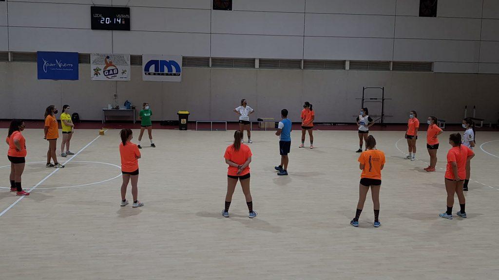 El senior femenino del GAB Jaén empezó los entrenamientos hace unas semanas/GAB JAÉN.