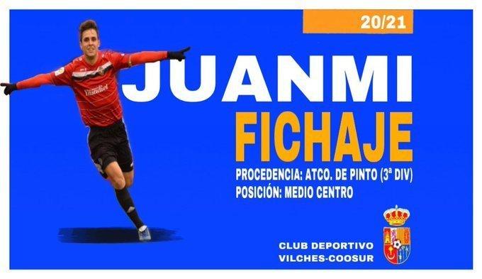 Juanmi, fichaje del CD Vilches-Coosur