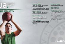 Detalle de las actividades organizadas por la Universidad de Jaén para esta semana de octubre. / UJA