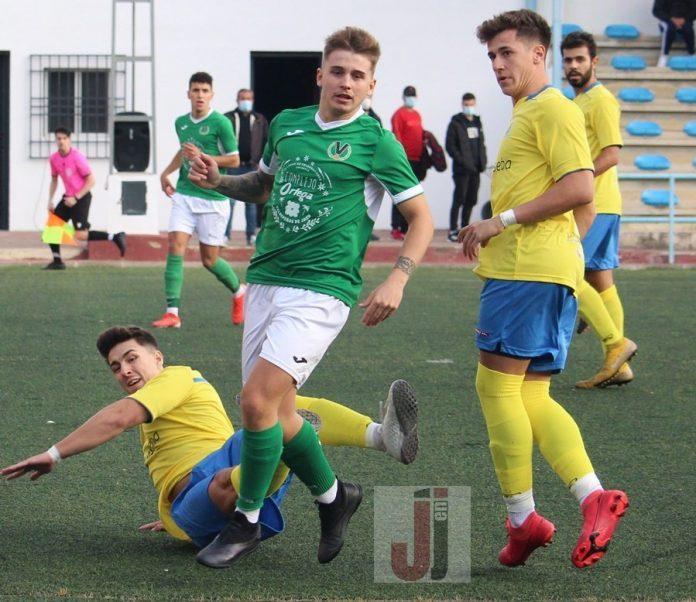 Partido de Primera Andaluza entre UD La Guardia y Valdepeñas CF
