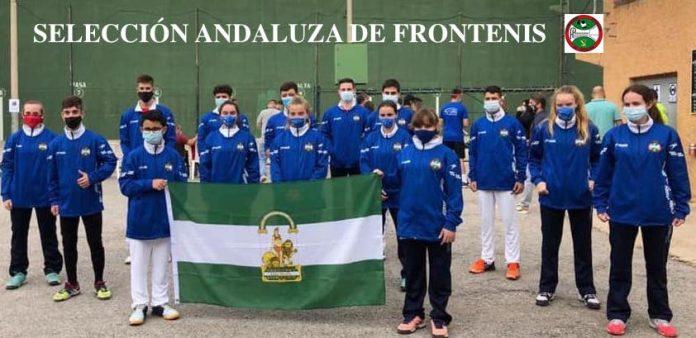 Andalucía estuvo presente en el Campeonato de España de frontenis