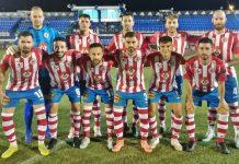 Alineación del Torredonjimeno en Copa RFAF