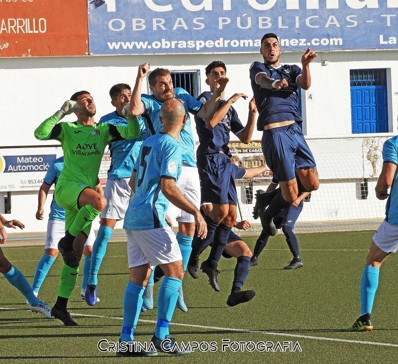 Villacarrillo CF y CD Villanueva igualaron sin goles