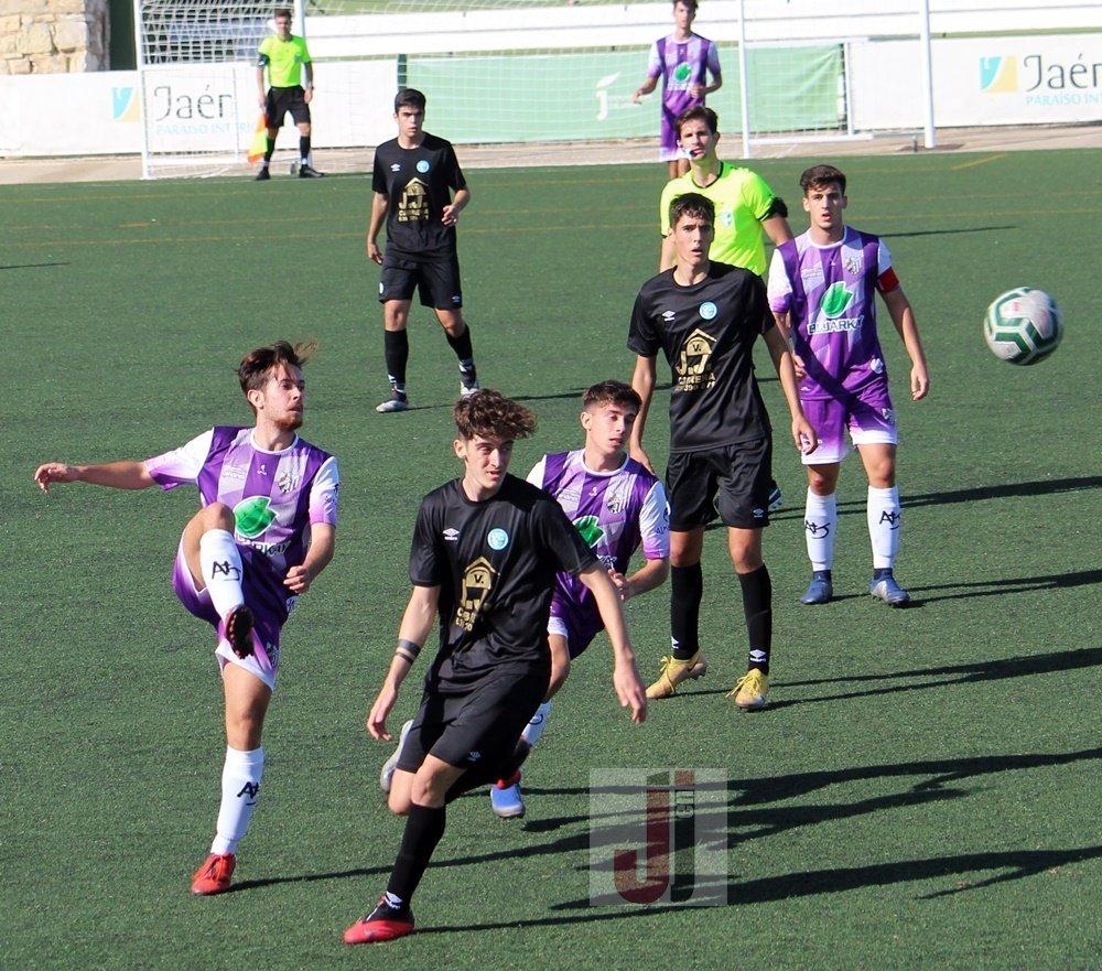 Victoria del At Jaén sobre el CD El Ejido LNJ