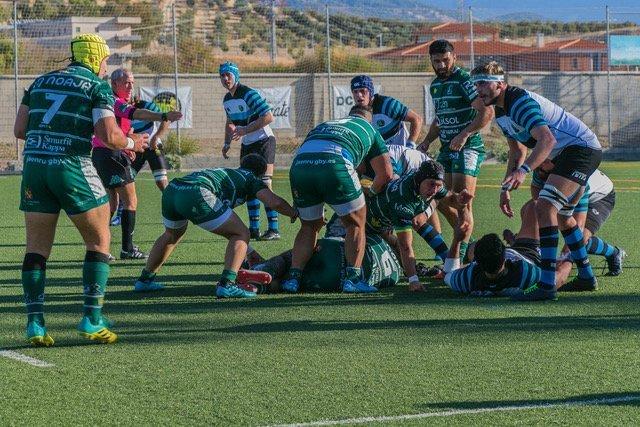 El año pasado Jaén Rugby venció a CD Arquitectura tanto en el partido de ida como en el de vuelta en casa. / JAÉN RUGBY