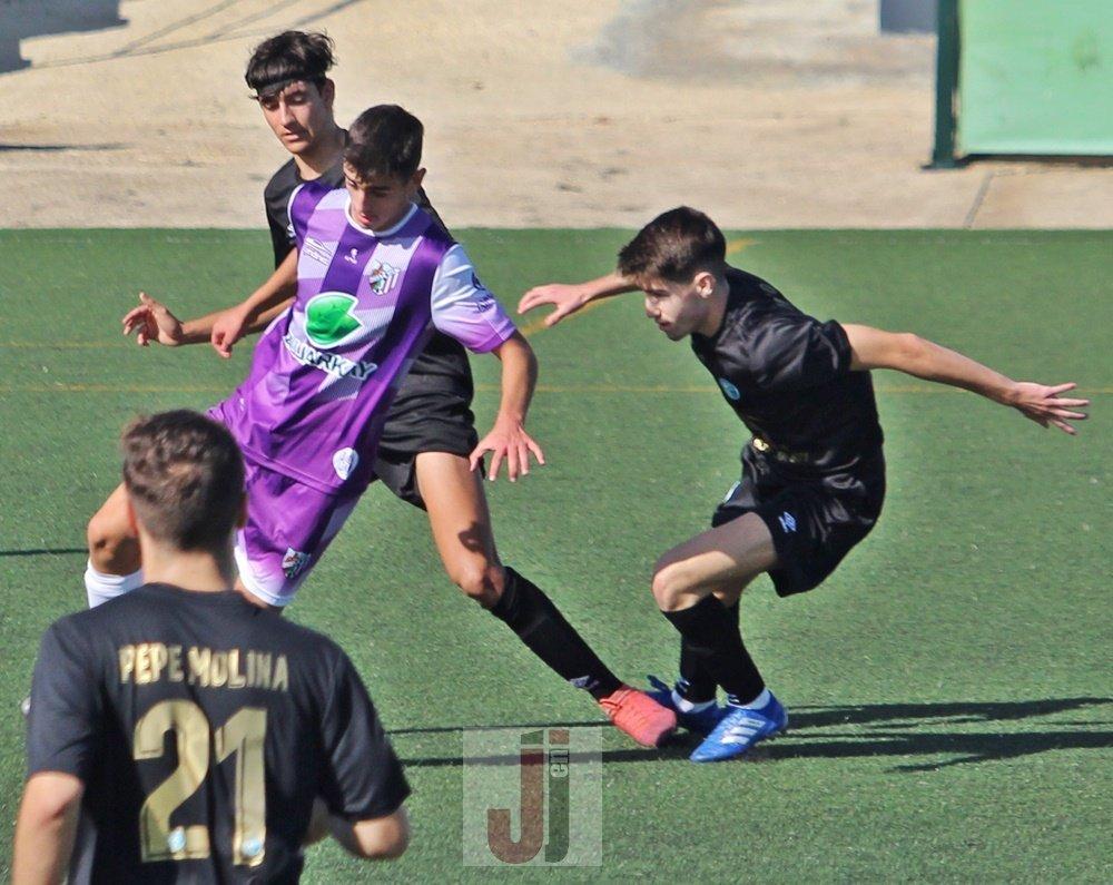 Partido de Liga Nacional Juvenil entre At Jaén y CD El Ejido