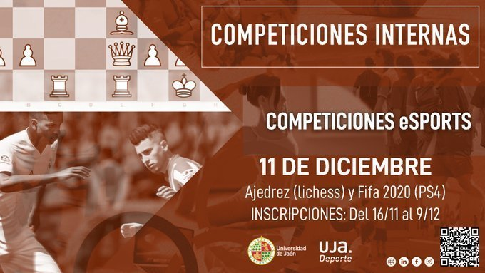 Cartel anunciador del torneo. / UJA