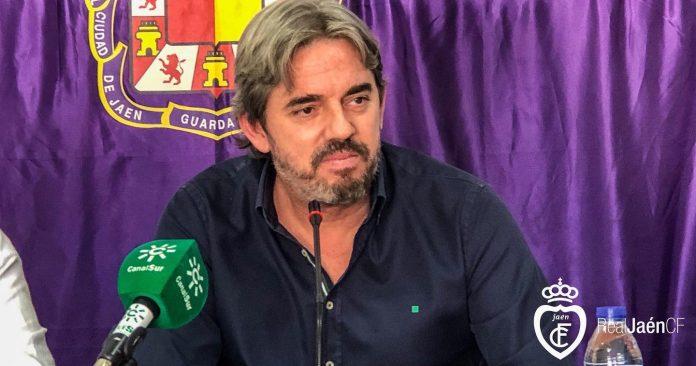 Andrés Rodríguez, presidente del Real Jaén.