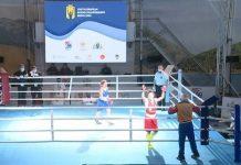 Momento de la victoria de Carmen González