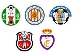 Escudos de los clubes de Tercera