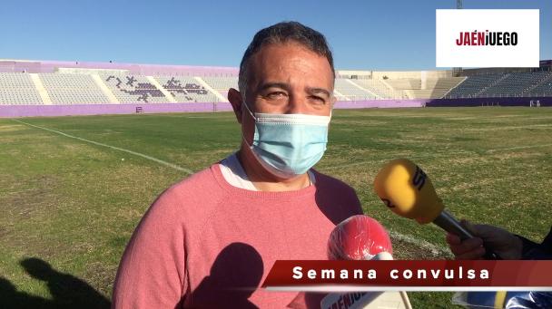Jaime Pérez, entrenador del Real Jaén/JAMADOR.