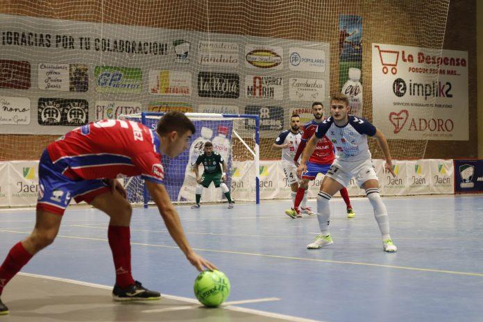 El Mengíbar FS no ha podido debutar con victoria en su cancha/MENGÍBAR FS.