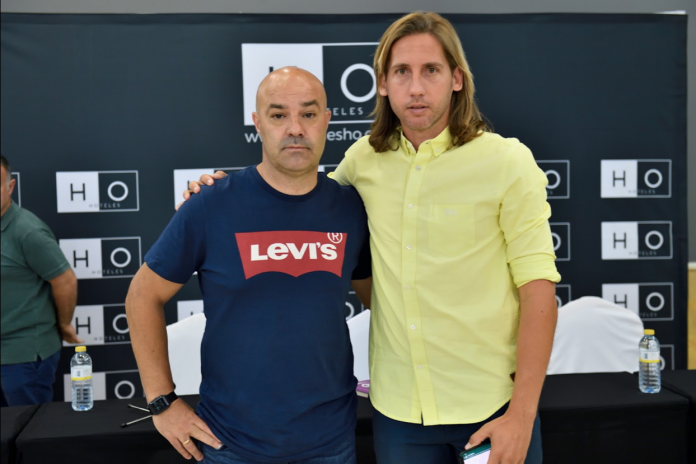 Puskas y Checa son dos de los trabajadores afectados del Real Jaén.