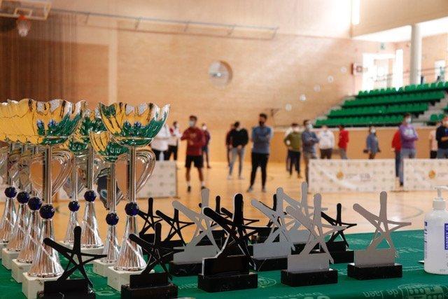 Entrega de premios de la XXVII edición del Trofeo Universidad de Jaén. / UJA