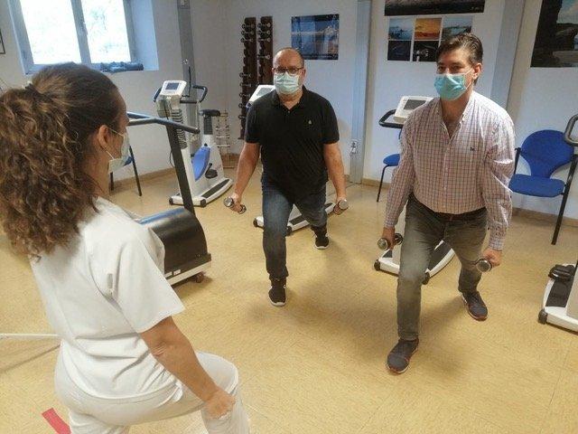 El vídeo de entrenamiento cardíaco tiene una duración de 30 minutos. / HOSPITAL DE JAÉN