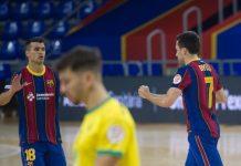 Jaén perdió ante el Barcelona