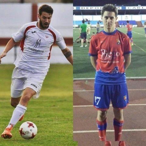 Manu Simón y Dani Campaña, fichajes del Valdepeñas CF