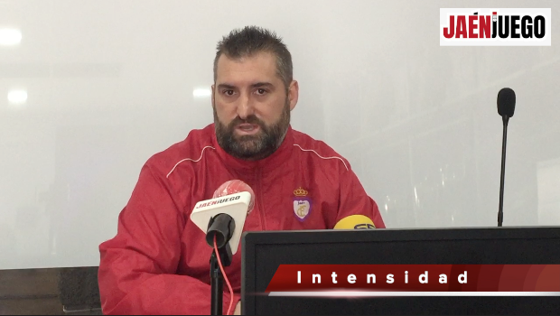 José María Pajares, durante la rueda de prensa de esta mañana/JAMADOR.