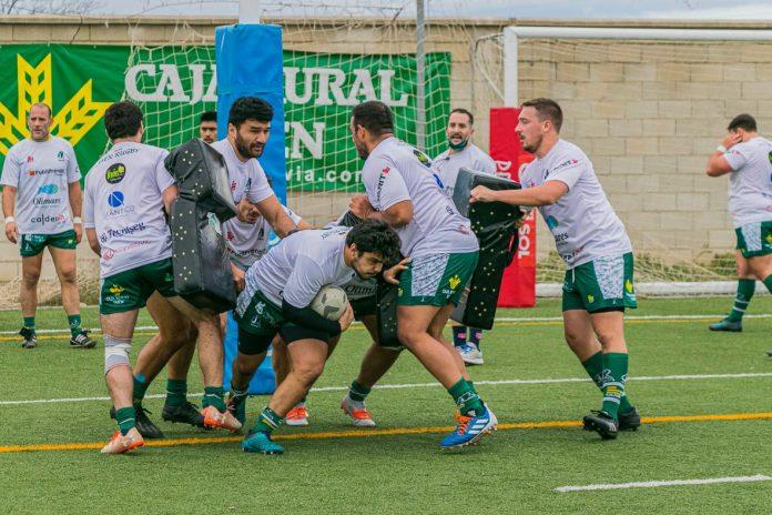 El equipo jienense se enfrentará como local al CAR Coanda Sevilla. / JAÉN RUGBY