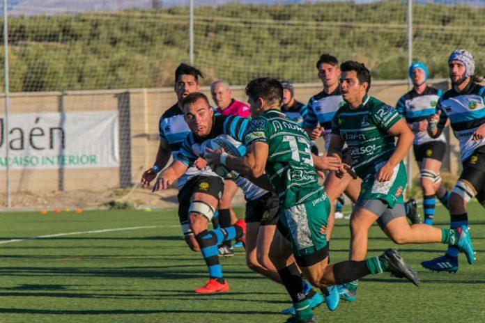 Jaén Rugby-Pozuelo RU, duelo por la segunda plaza en el Grupo C: / ANDRÉS GARCÍA