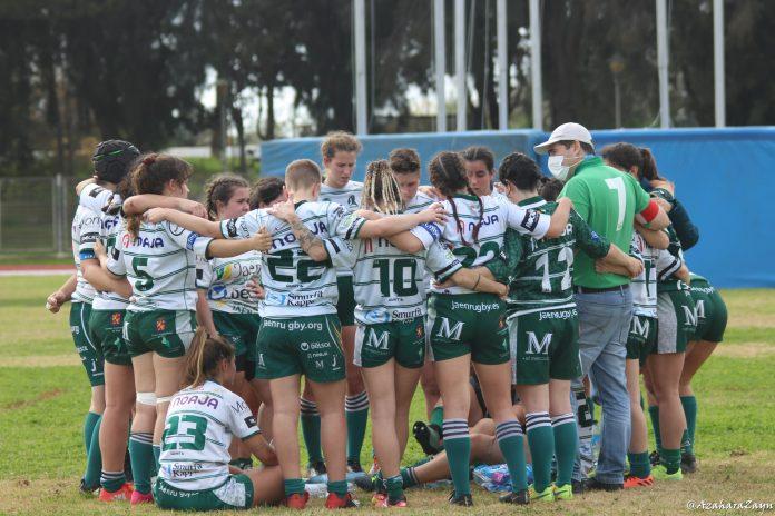 El próximo partido será en casa el 14 de febrero contra el UMA Rugby Femenino. / Azahara Zayn