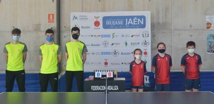 El Hujase recibe a los dos equipos de Andújar y al equipo alcalaíno. / HUJASE