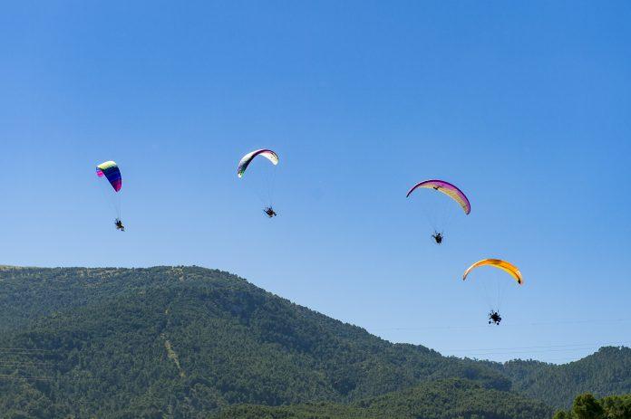 Esta será una edición muy centrada en las exhibiciones aéreas y el deporte en contacto con la naturaleza. / HERMES C.