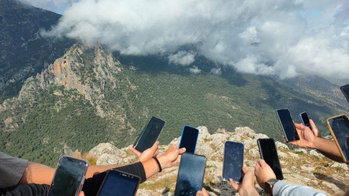 La parte práctica se desarrolló en la Cruz de la Chimba, Alto de La Pandera y Cerro de la Horca. / UJA