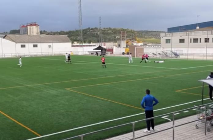 Gol polémico CD Alcalá Enjoy