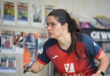 A sus 25 años, Verónica, técnico de la Selección Extremeña de Tenis de Mesa, tiene una amplia experiencia en este deporte. / HUJASE JAÉN