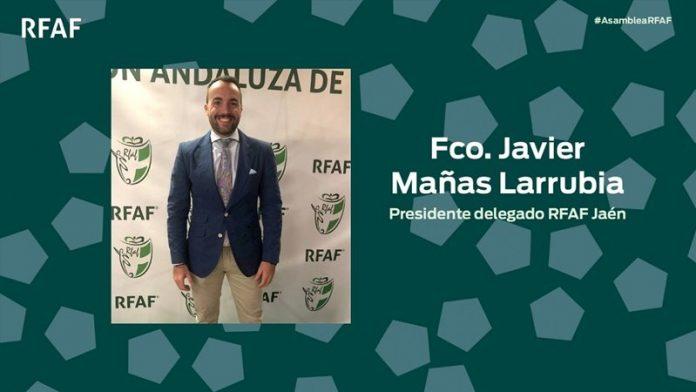 Javier Mañas, nuevo Delegado-Presidente de la RFAF en Jaén