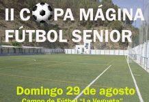 La II Copa Mágina de Fútbol Sénior se jugarán en Cambil