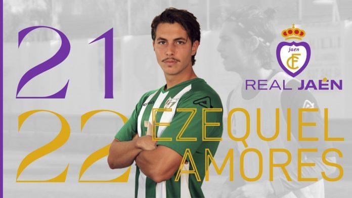 Montaje fotográfico realizado por el Real Jaén para dar la bienvenida al jugador.