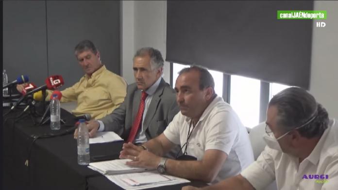 Fomento y Promoción del Real Jaén apoya la captación de fondos de la Federación de Peñas